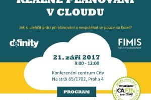 Workshop CAFIN 2017 pozvánka Definity_náhled